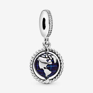 Pandora Spinning Globe Dangle Charm